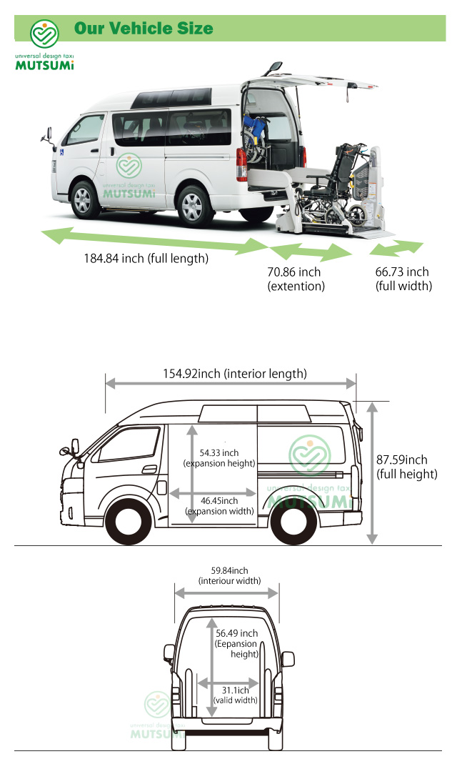 Tokyo flat rate service taxi